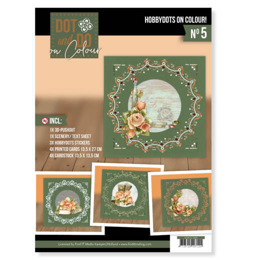 Dot and Do on Colour 5 - Precious Marieke - Romantic Roses