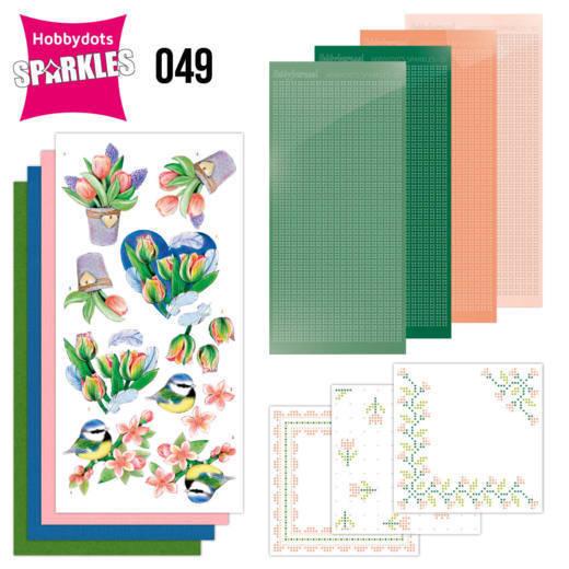 Sparkles Set 49- Jeanine's Art - Tulips and Blossom