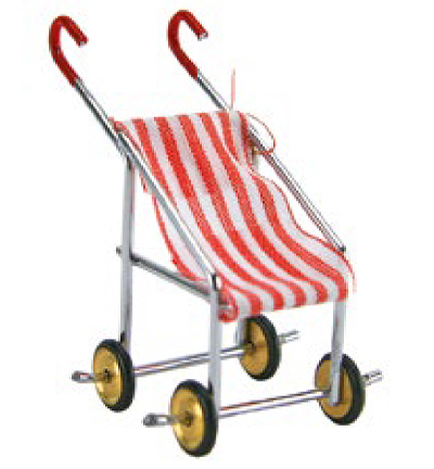Miniatures, Buggy red/white