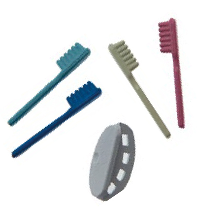 Miniatures, Tooth brush set x5