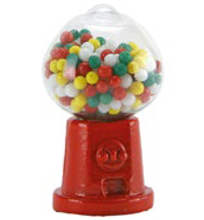 Miniatures, Chewgum machine red