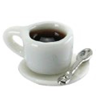 Miniatures, Coffee cup white