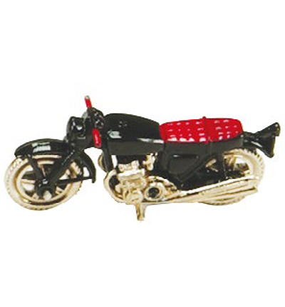 Miniatures, Moped black
