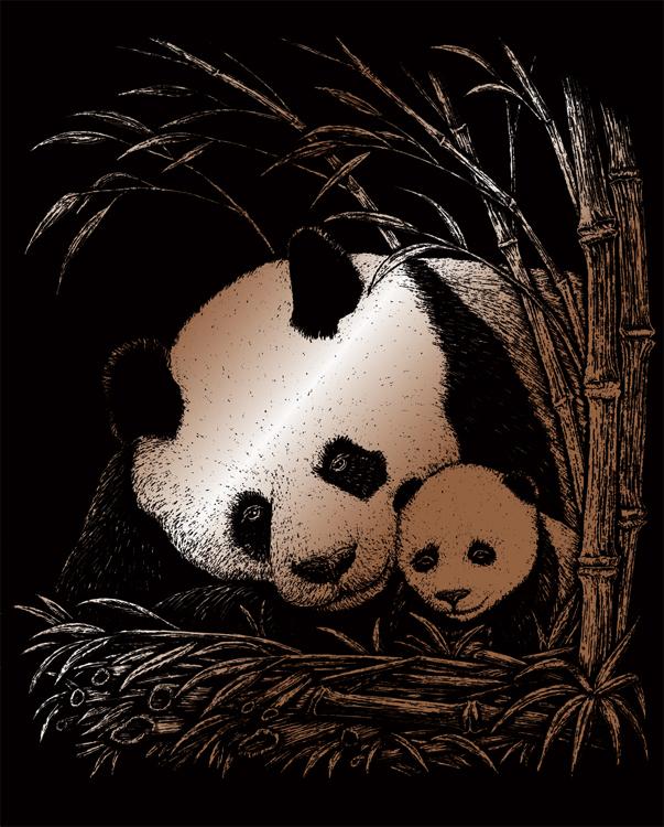 COPPER EA PANDA & BABY