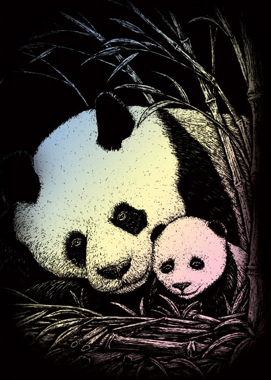 BAMBOO PANDA HOLOGRAPHIC MINI