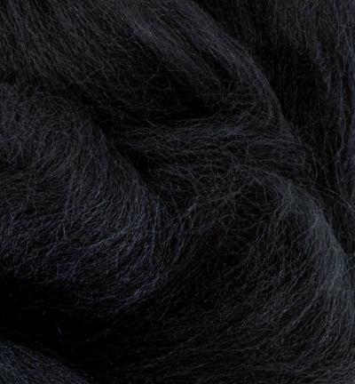 German merino wool extra thin, Black