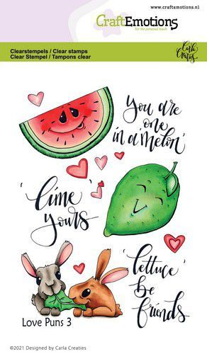 CraftEmotions clearstamps A6 - Love Puns 3 Carla Creaties (01-21)