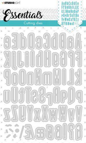 Studio Light Cutting Die Alphabet Tall Essentials nr.390 STENCILSL390 137x197mm (02-21)