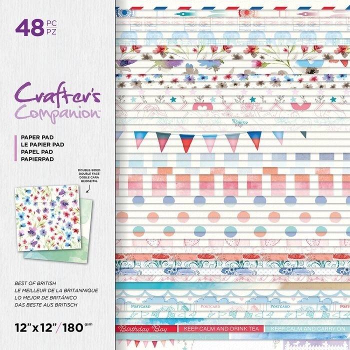 CC- Paperpad 30x30 cm - Best Of British