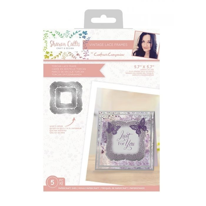 Sharon Callis Crafts - Vintage Lace Frames - Torcan Lace Frame