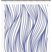 Sara Signature Collection Nautical - 5x7 Embossing folder - Ocean's Wave