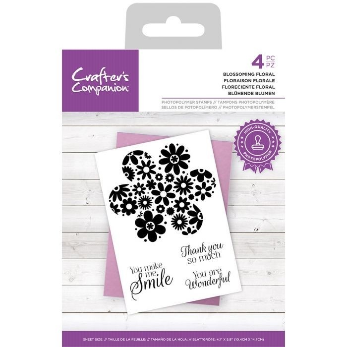 CC - Clearstamp - Blossoming Floral