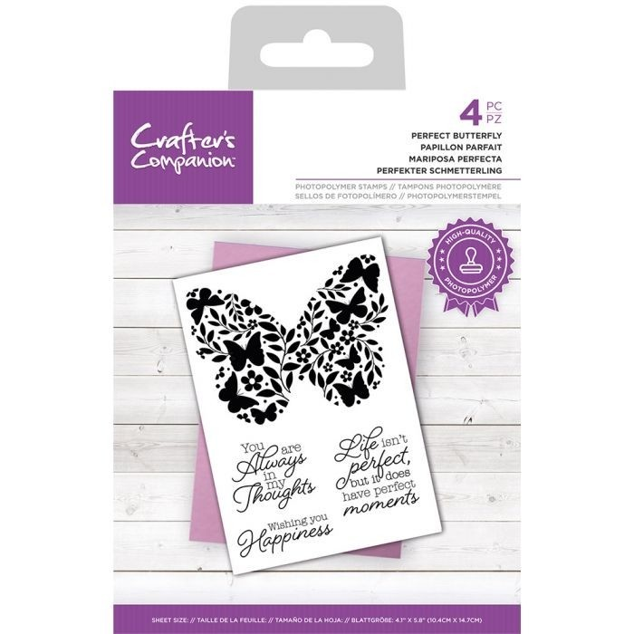 CC - Clearstamp - Perfect Butterfly
