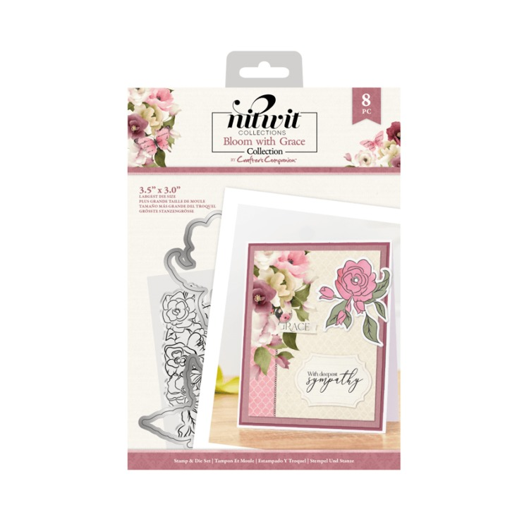 Bloom with Grace - Clearstamp&Snijmallen Set