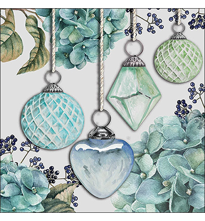 Hanging Baubles Green