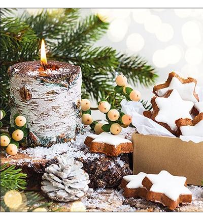 Birchwooden Candle