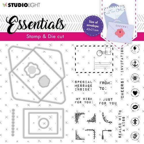 Studio Light Stamp & Cutting Die Essentials nr.55 BASICSDC55 A6 (03-21)