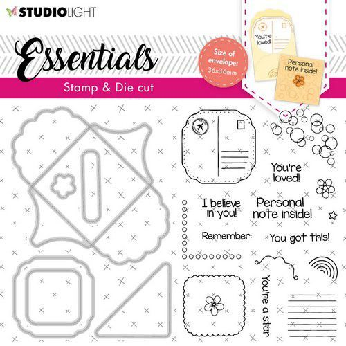 Studio Light Stamp & Cutting Die Essentials nr.58 BASICSDC58 A6 (03-21)