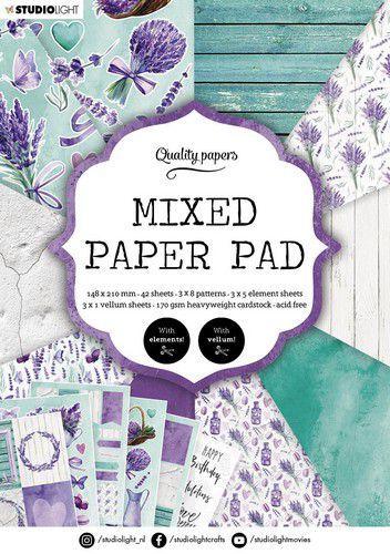 Studio Light Mixed Paper Pad Pattern paper Essentials nr.158 A5MPPSL158 A5 (03-21)