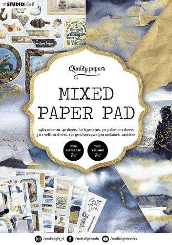 Studio Light Mixed Paper Pad Pattern paper Essentials nr.159 A5MPPSL159 A5 (03-21)