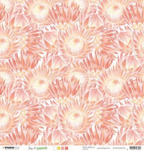 Studio Light Scrap Say it with flowers nr.120 SL-SWF-SCRAP120 305x305mm (03-21)