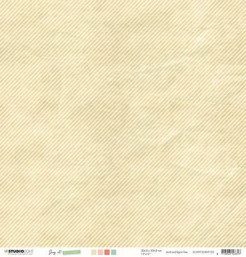 Studio Light Scrap Say it with flowers nr.122 SL-SWF-SCRAP122 305x305mm (03-21)