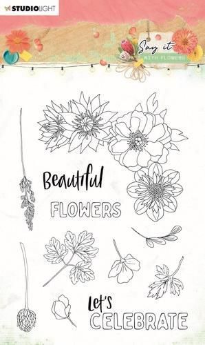 Studio Light Clear Stamp Say it with flowers nr.526 SL-SWF-STAMP526 A6 (03-21)