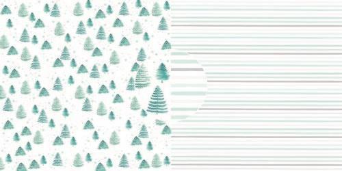 Dini Design Scrappapier 10 vl Bomen - Strepen 30,5x30,5cm #4015 (10-20)