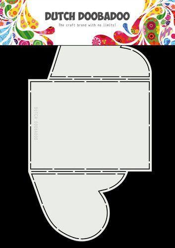 Dutch Doobadoo Card Art A4 Harten 470.713.846 (02-21)
