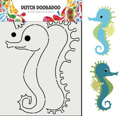 Dutch Doobadoo Card Art Built up Zeepaard 470.713.848 (02-21)