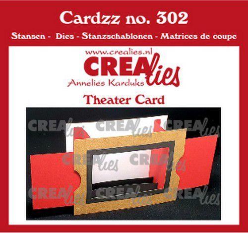 Crealies Cardzz Theater kaart CLCZ302 10,5x14,5cm (02-21)