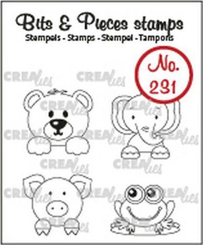 Crealies Clearstamp Bits & Pieces Mini's CLBP231 19x19mm (02-21)