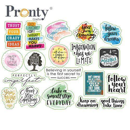 Pronty Embellishments Quotes print 472.700.010 (01-21)