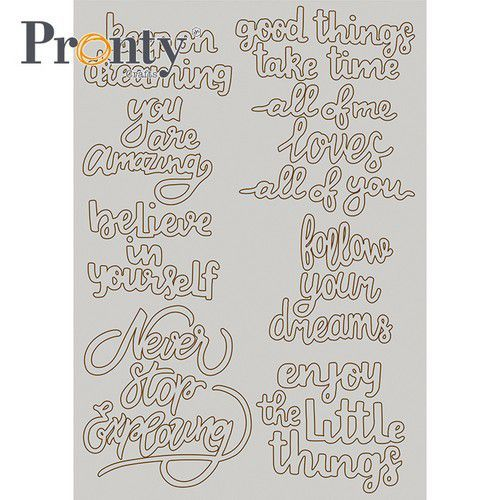 Pronty Chipboard A5 Quotes 492.010.021 (01-21)