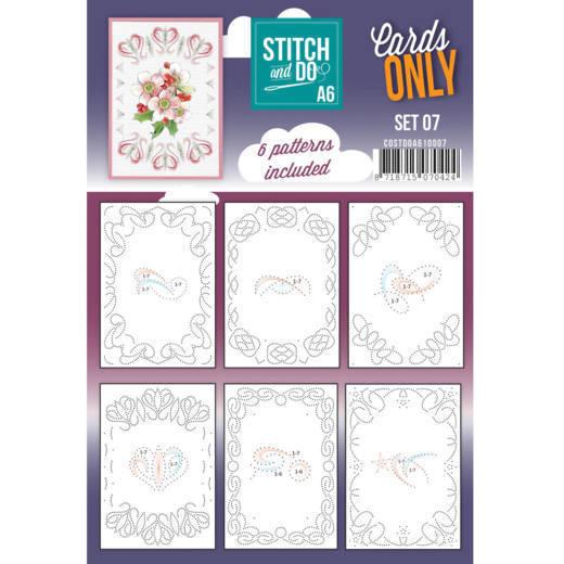 Cards Only Stitch A6 - 007