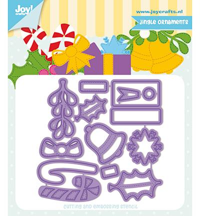 6002/1330 Cutting & embossing Jocelijne Jingle Ornamenten