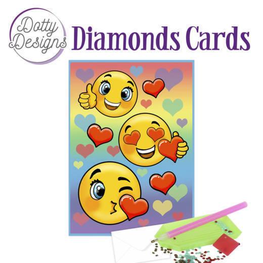 Dotty Designs Diamond Cards - Smileys