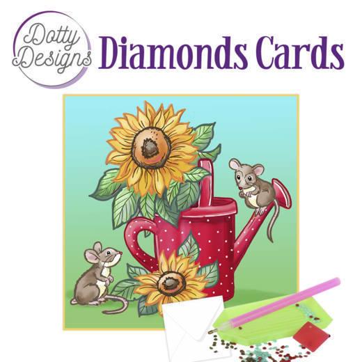 Dotty Designs Diamond Cards - Sunflowers
