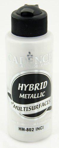 Cadence Hybride metallic acrylverf (semi mat) Parel 01 008 0802 0120 120 ml (03-21)