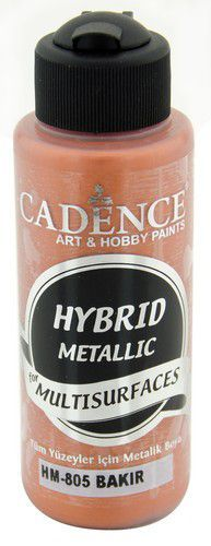 Cadence Hybride metallic acrylverf (semi mat) Koper 01 008 0805 0120 120 ml (03-21)