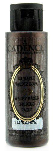 Cadence Gilding Metallic acrylverf Bruin 01 035 0114 0070 70 ml (03-21)