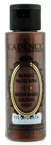 Cadence Gilding Metallic acrylverf Chocolade 01 035 0115 0070 70 ml (03-21)