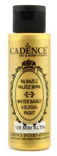 Cadence Pure Gold Gilding Metallic verf puur goud 01 040 0120 0070 70 ml (03-21)