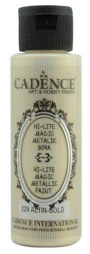 Cadence Hi-lite Metallic verf Goud 01 019 0229 0070 70 ml (03-21)