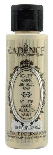 Cadence Hi-lite Metallic verf Oranje 01 019 0339 0070 70 ml (03-21)