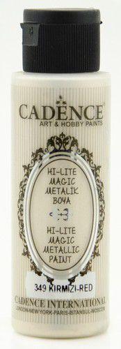 Cadence Hi-lite Metallic verf Rood 01 019 0349 0070 70 ml (03-21)