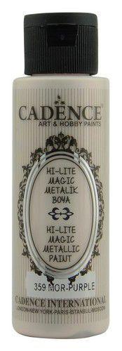 Cadence Hi-lite Metallic verf paars 01 019 0359 0070 70 ml (03-21)
