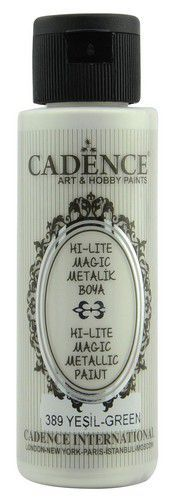 Cadence Hi-lite Metallic verf Groen 01 019 0389 0070 70 ml (03-21)