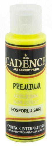 Cadence Premium acrylverf flouroscent geel 01 038 0002 0070 70 ml (03-21)