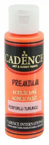 Cadence Premium acrylverf flouroscent oranje 01 038 0004 0070 70 ml (03-21)